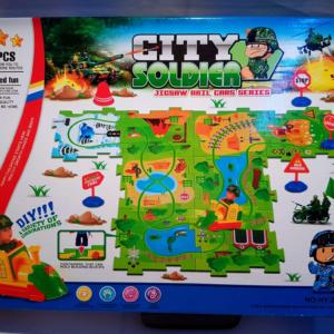 Joc 2 in 1 – Puzzle + Lego City Police - Joc 2 in 1 - Puzzle + Lego City Police