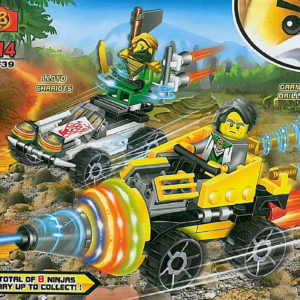 Jucarie Ninja – model Lego – Garmadon Drilling car -