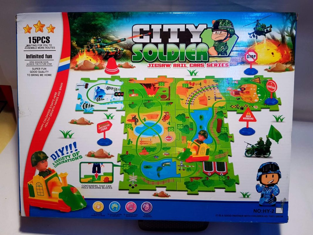 Joc 2 in 1 - Puzzle + Lego City Police - 20161117 172334 - Joc 2 in 1 – Puzzle + Lego City Police