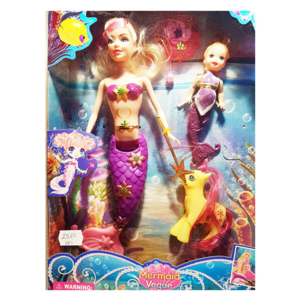 papusa sirena mermaid vogue - Papusa Sirena Mermaid Vogue 600x600 - Papusa Sirena Mermaid Vogue