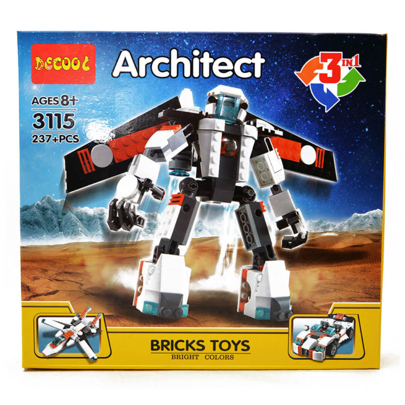 lego avion, masina si robot - lego 3 in 1 architect - DSC 1934 - Lego Avion, Masina si Robot – Lego 3 in 1 Architect