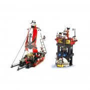 Set Corabie Pirati model lego (1)