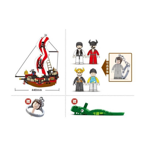 Set Corabie Pirati model lego (3)